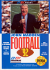 John Madden Football '92 Sega Genesis cover artwork