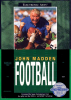 John Madden Football Sega Genesis cover artwork