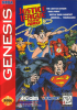 Justice League Task Force Sega Genesis cover artwork