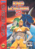 King of the Monsters 2 Sega Genesis cover artwork