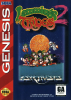 Lemmings 2 - The Tribes Sega Genesis cover artwork