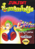 Lemmings Sega Genesis cover artwork