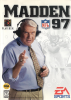 Madden NFL 97 Sega Genesis cover artwork