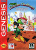 Mickey's Ultimate Challenge Sega Genesis cover artwork