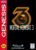 Mortal Kombat 3 Sega Genesis cover artwork