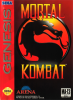 Mortal Kombat Sega Genesis cover artwork