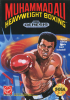 Muhammad Ali Heavyweight Boxing Sega Genesis cover artwork