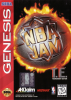 NBA Jam Tournament Edition Sega Genesis cover artwork