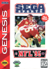 NFL '95 Sega Genesis cover artwork