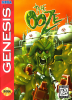 Ooze, The Sega Genesis cover artwork