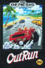 OutRun Sega Genesis cover artwork