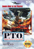 P.T.O - Pacific Theater of Operations Sega Genesis cover artwork