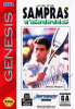 Pete Sampras Tennis Sega Genesis cover artwork