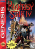 Phantasy Star IV Sega Genesis cover artwork