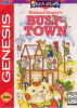 Richard Scarry's Busytown Sega Genesis cover artwork