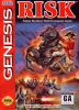 Risk Sega Genesis cover artwork