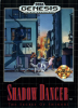 Shadow Dancer - The Secret of Shinobi Sega Genesis cover artwork