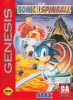 Sonic Spinball Sega Genesis cover artwork
