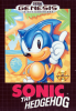 Sonic The Hedgehog Sega Genesis cover artwork