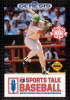 Sports Talk Baseball Sega Genesis cover artwork