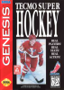 Tecmo Super Hockey Sega Genesis cover artwork