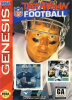 Troy Aikman NFL Football Sega Genesis cover artwork