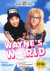 Wayne's World Sega Genesis cover artwork