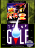 Zany Golf Sega Genesis cover artwork