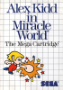 Alex Kidd in Miracle World Sega Master System cover artwork