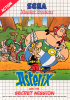 Asterix and the Secret Mission Sega Master System cover artwork