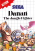 Danan - The Jungle Fighter Sega Master System cover artwork