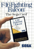 F-16 Fighting Falcon Sega Master System cover artwork