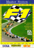 F1 Sega Master System cover artwork