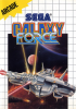 Galaxy Force Sega Master System cover artwork
