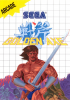 Golden Axe Sega Master System cover artwork