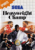 Heavyweight Champ Sega Master System cover artwork