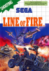 Line of Fire Sega Master System cover artwork