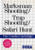 Marksman Shooting & Trap Shooting & Safari Hunt Sega Master System cover artwork