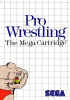 Pro Wrestling Sega Master System cover artwork