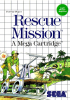 Rescue Mission Sega Master System cover artwork