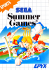 Summer Games Sega Master System cover artwork