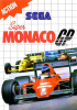 Super Monaco GP Sega Master System cover artwork