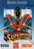 Superman - The Man of Steel Sega Master System cover artwork