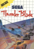 Thunder Blade Sega Master System cover artwork