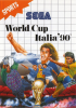 World Cup Italia '90 Sega Master System cover artwork