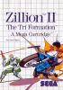 Zillion II - The Tri Formation Sega Master System cover artwork