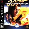 007 - The World Is Not Enough Sony PlayStation cover artwork