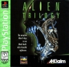 Alien Trilogy Sony PlayStation cover artwork