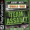 Army Men - World War - Team Assault Sony PlayStation cover artwork