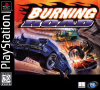 Burning Road Sony PlayStation cover artwork